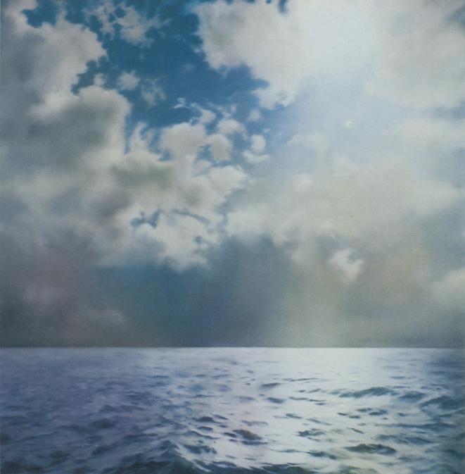 Gerhard Richter con Seascapes