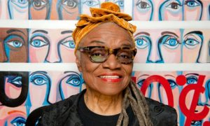'I want to tell my side of the story' … Faith Ringgold. Photograph: Jill Mead/The Guardian