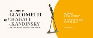 l tempo di Giacometti da Chagall a Kandinsky