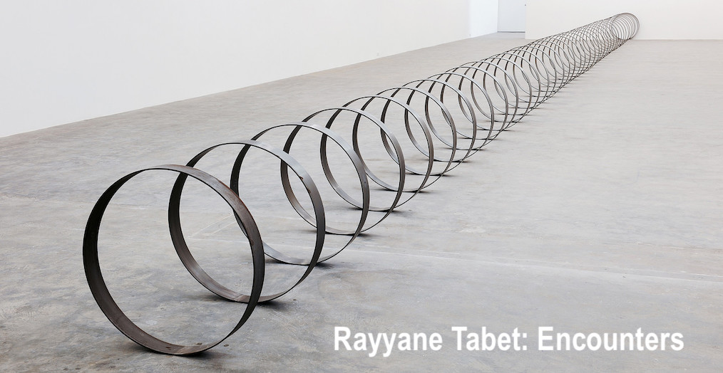 Rayyane Tabet: Encounters - Parasol unit foundation for contemporary art