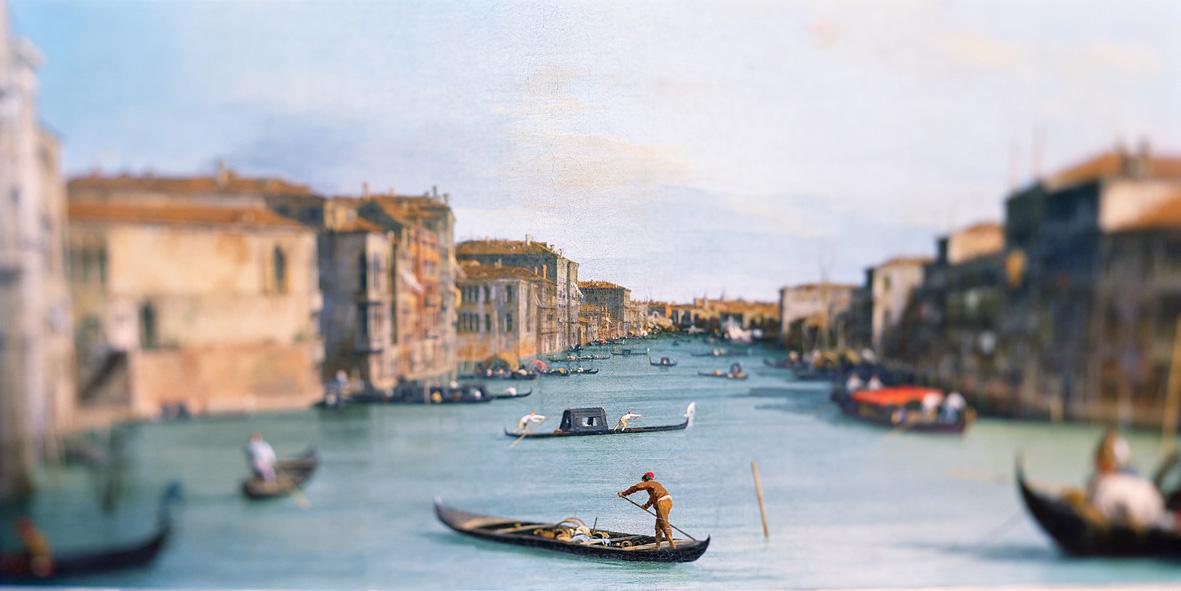 Olivo Barbieri: Paintings, Uffizi, Florence 2002