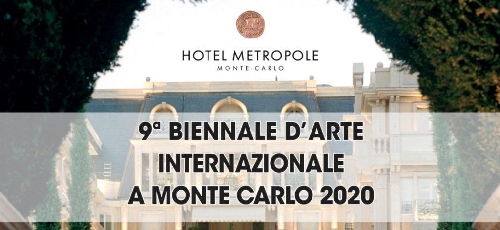 9^ BIENNALE D'ARTE INTERNAZIONALE Montecarlo