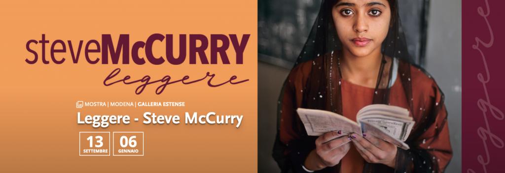 LEGGERE – Steve McCurry. MODENA – Gallerie Estensi