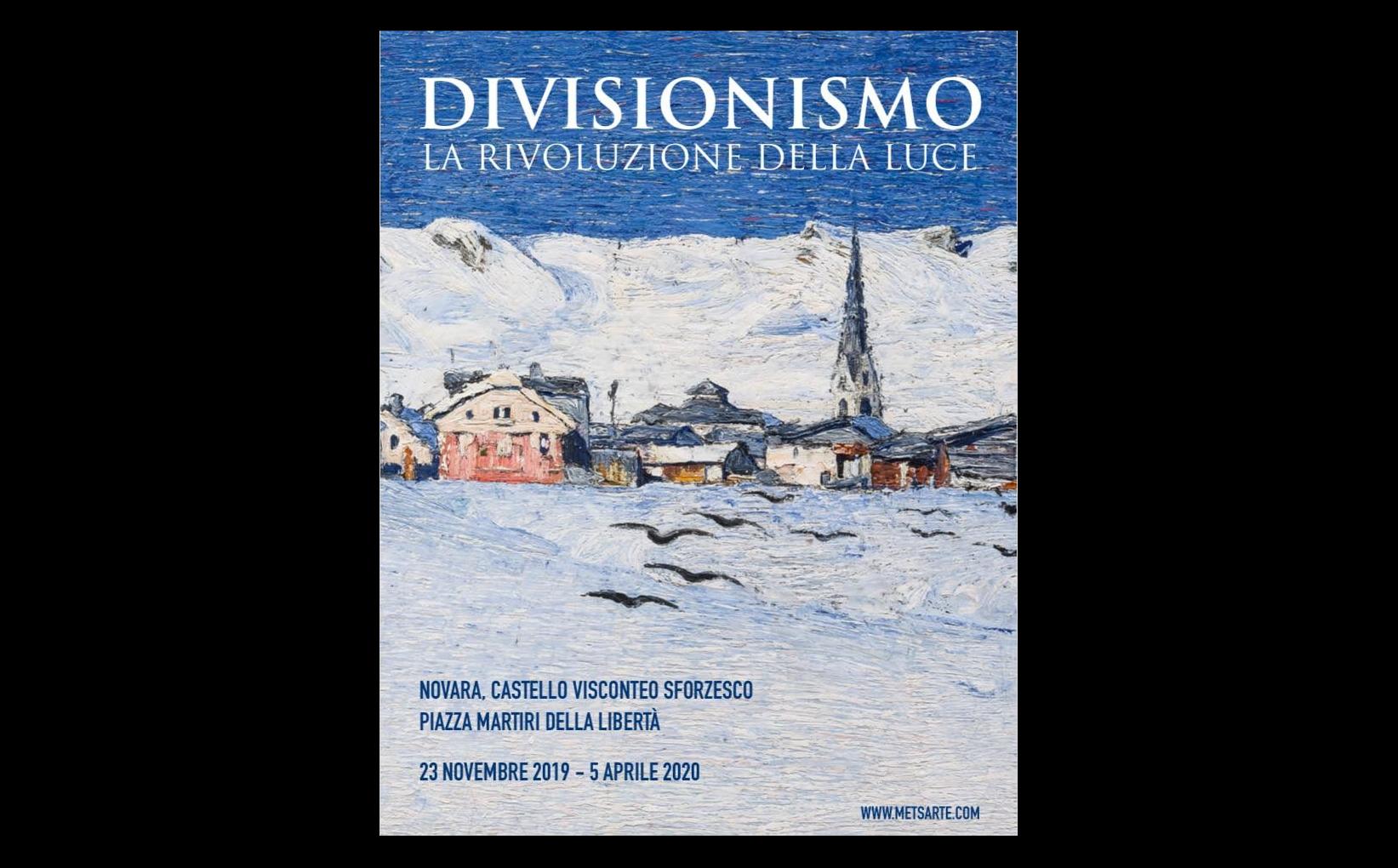 DIVISIONISMO. La rivoluzione della luce - NOVARA – Castello