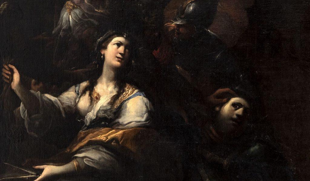 """Sansone e Dalila - di Andrea Donducci detto """"Il Mastelletta"""""""