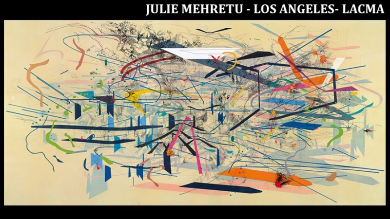 JULIE MEHRETU - LOS ANGELES LACMA 2020