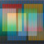 Carlos Cruz-Diez, Color Aditivo Panam 3, 2010, cromografia su alluminio, 60x80 cm.