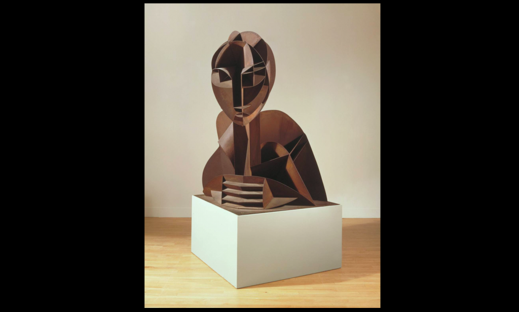Head No. 2 1916, enlarged version 1964 The Work of Naum Gabo © Nina & Graham Williams / Tate, 2019