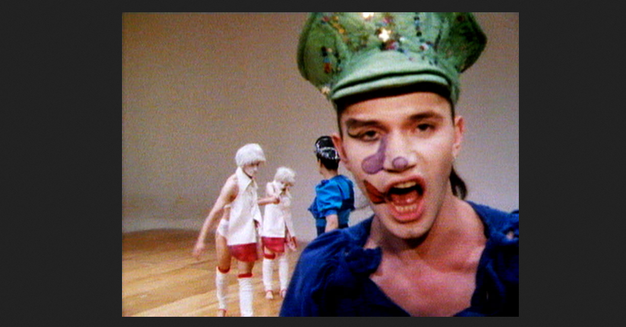 Charles Atlas, Hail the New Puritan, 1986, 16mm film transferred to video, sound; duration: 84'54''. © Charles Atlas; Courtesy the artist and Luhring Augustine, New York.