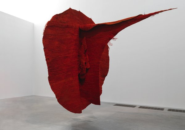 Magdalena Abakanowicz Abakan Red 1969 Tate Presented anonymously 2009 © Magdalena Abakanowicz Foundation