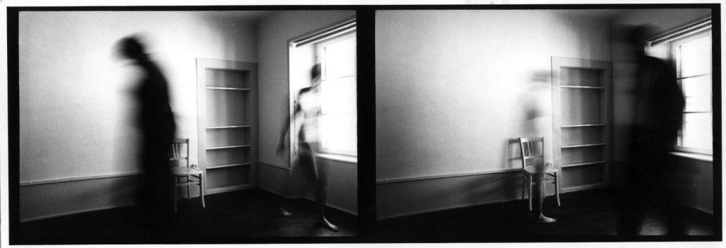 Christian Vogt, In Camera, fine anni Settanta gelatin silver print, cm 15 x 39.9, passepartout cm 40 x 50 Fondo Lanfranco Colombo − Regione Lombardia