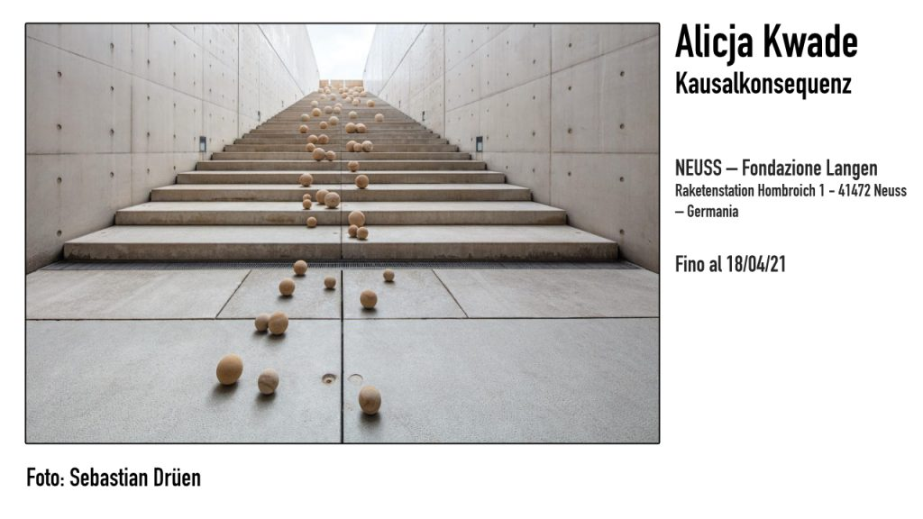 Alicja Kwade Kausalkonsequenz - Foto: Sebastian Drüen