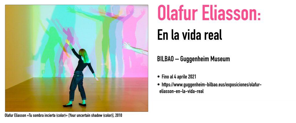 Olafur Eliasson «Tu sombra incierta (color)» [Your uncertain shadow (color)], 2010