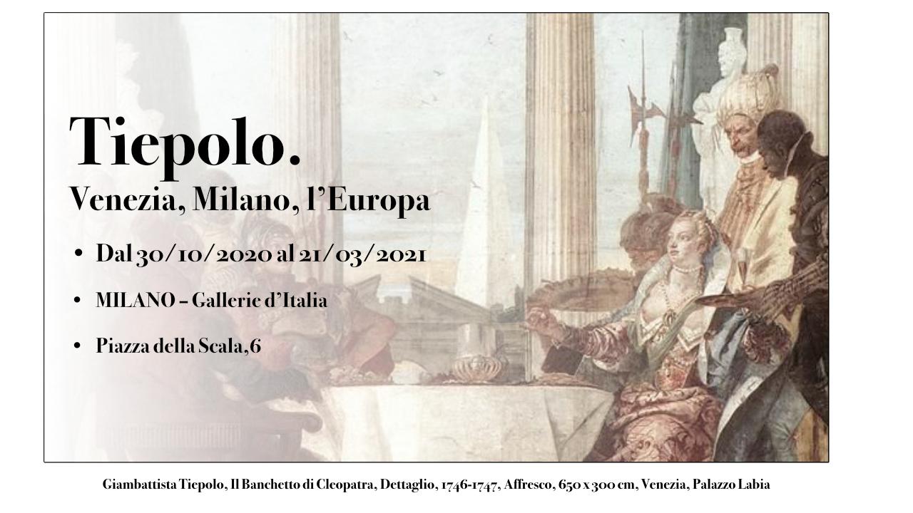 Giambattista Tiepolo, Il Banchetto di Cleopatra, Dettaglio, 1746-1747, Affresco, 650 x 300 cm, Venezia, Palazzo Labia