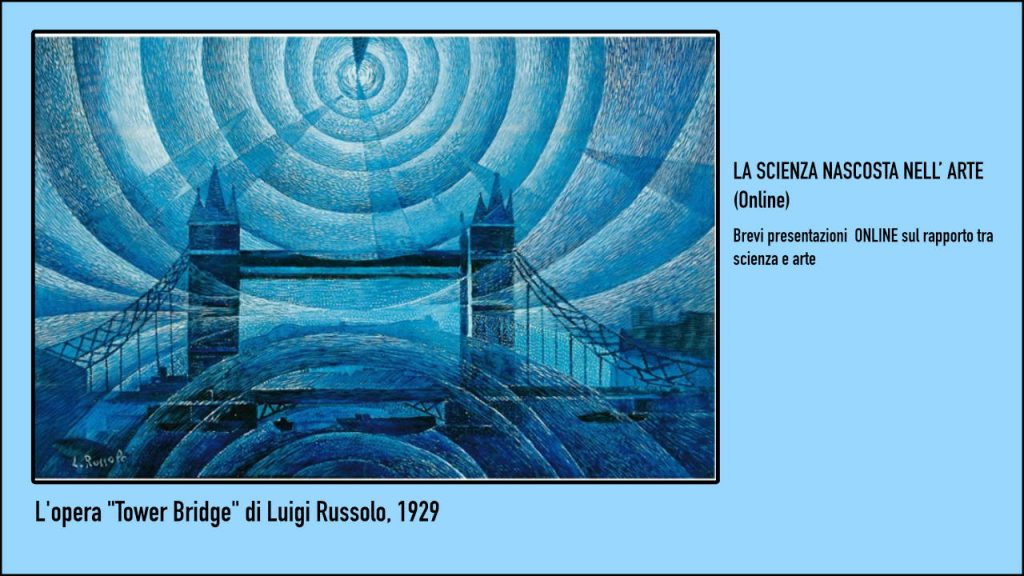 Tower Bridge di Luigi Russolo 1929