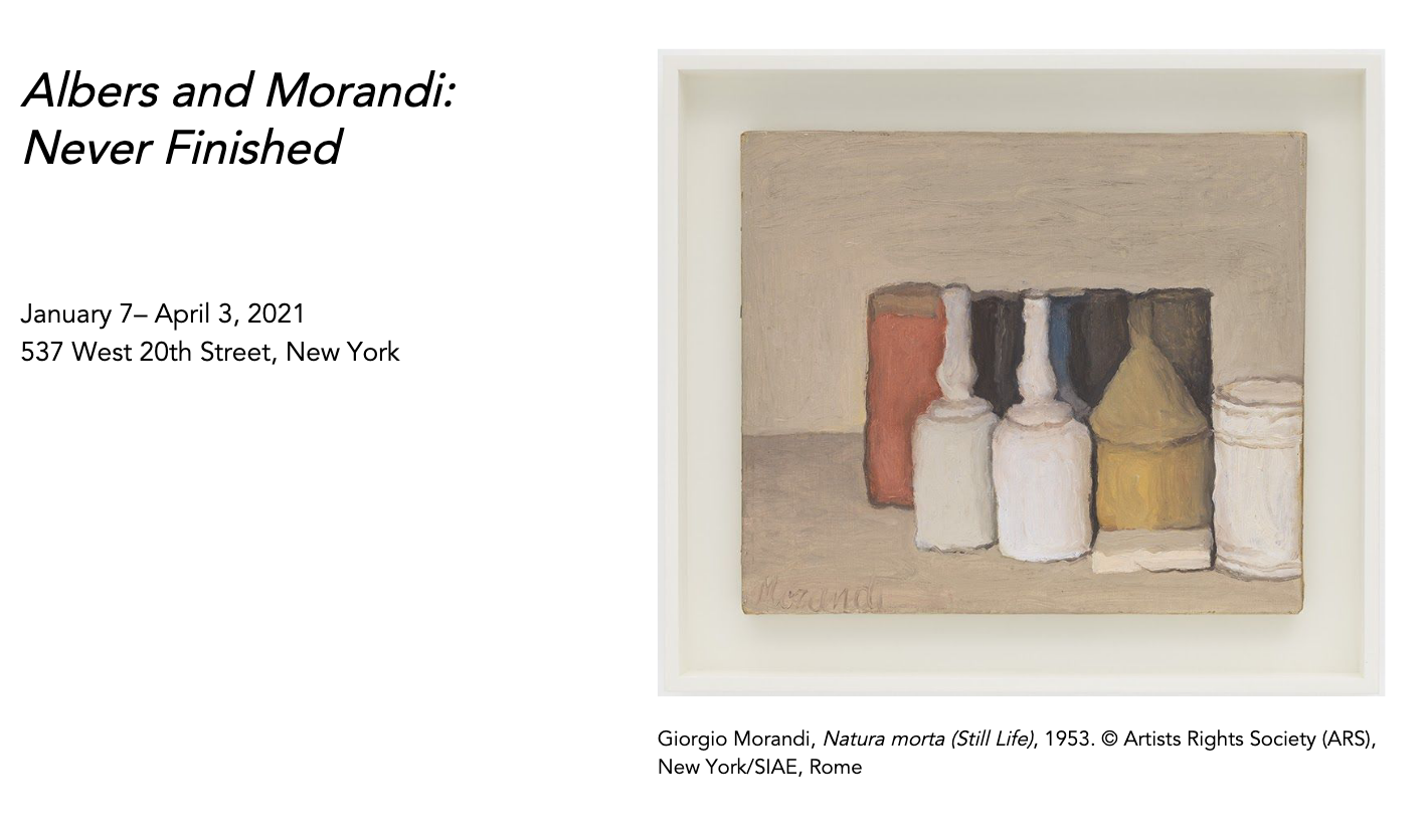 Giorgio Morandi, ​Natura morta (Still Life)​, 1953. © Artists Rights Society (ARS),New York/SIAE, Rome