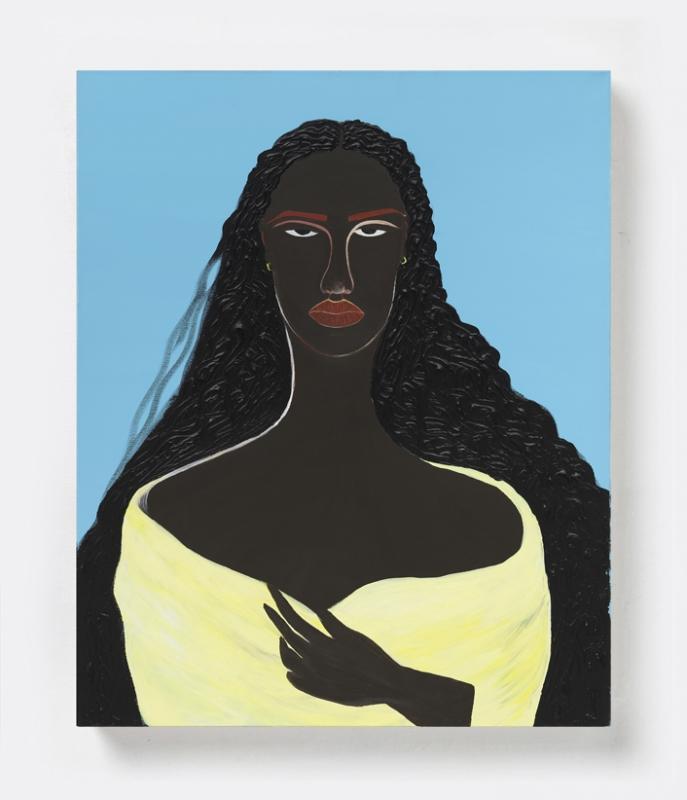 1/7 - Peculiar Tint | 2020, Acrylic on canvas, 76.2 x 60.9 cm