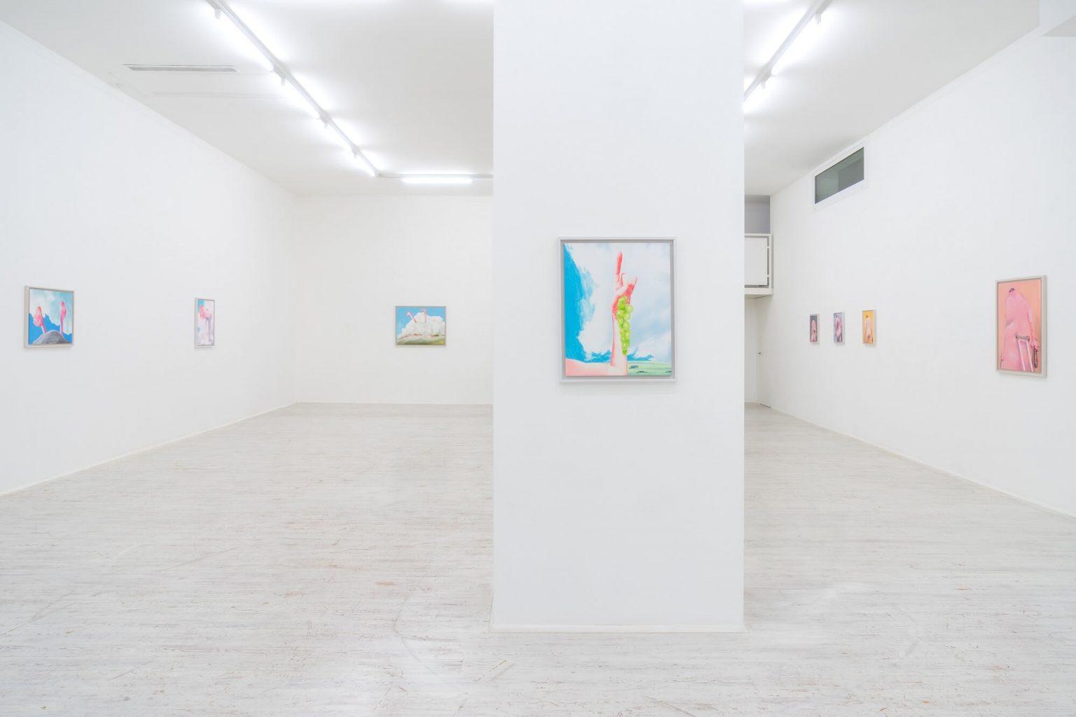 """Robert Feintuch """"Robert Feintuch: Selected Paintings 2010-2018"""" - Installation View 2021"""