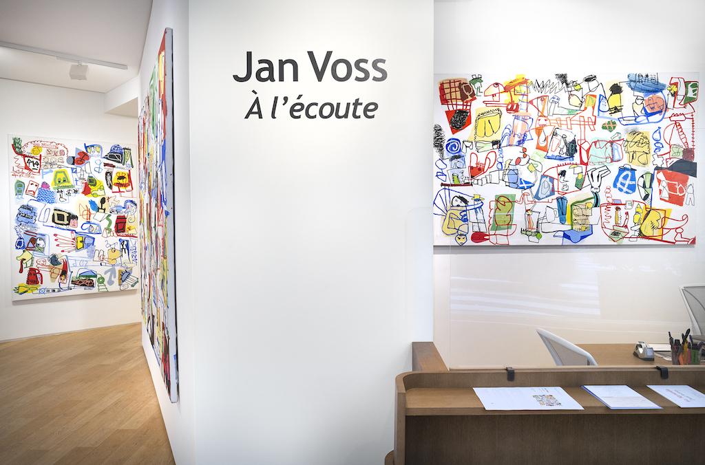 Vue d'exposition. © Jan Voss / Courtesy Galerie Lelong & Co. Photo: Fabrice Gibert