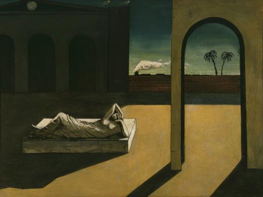 GIORGIO DE CHIRICO (1888–1978) Der Lohn des Wahrsagers (La Récompense du dévin), 1913