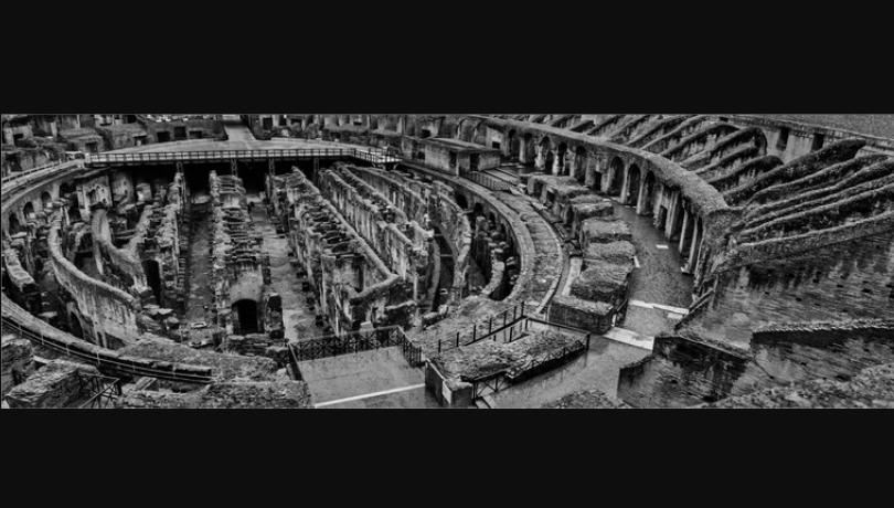 4. Colosseo, Roma, Italia, 2015-© Josef Koudelka/ Magnum Photos