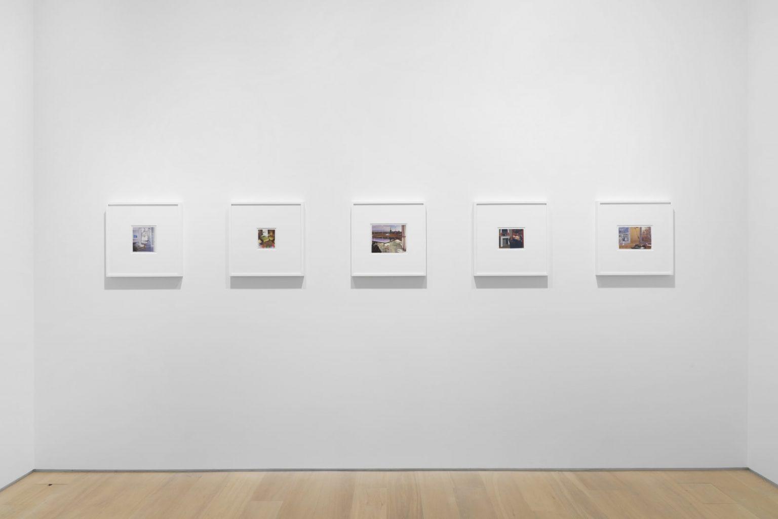 Dexter Dalwood, Collages 1999-2011, 2021 Simon Lee Gallery, London Photo: Ben Westoby