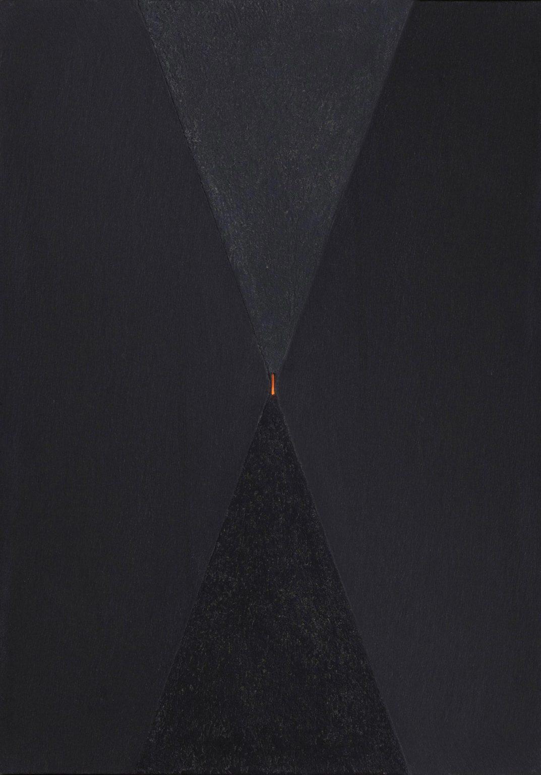 Elio Marchegiani - Clessidra con punto luce,1991