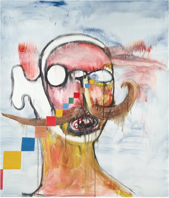 Albert Oehlen, Untitled, 2019