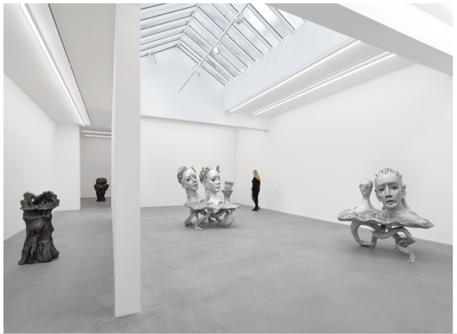 Jean Marie Appriou, Fire on the sea, Installation view