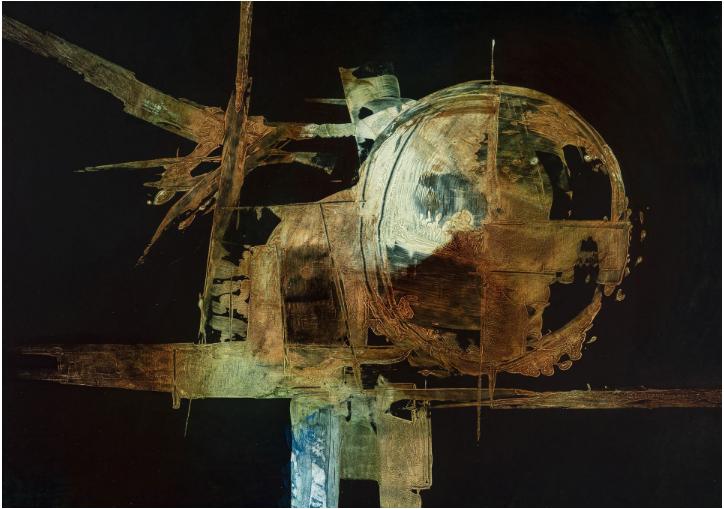 Luigi Pericle, Senza Titolo (Matri Dei), 1966