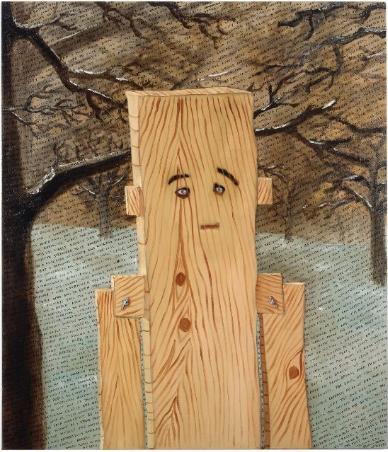 Sean Landers, Plankboy, 2009