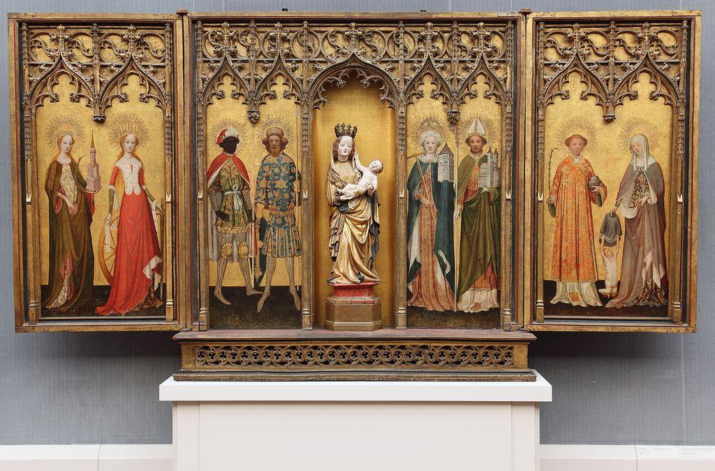 Altar aus St. Gereon, Köln, um 1420, © Staatliche Museen zu Berlin, Gemäldegalerie / Christoph Schmidt