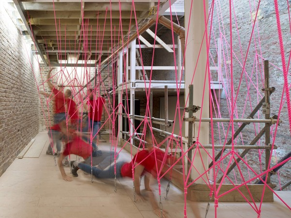 Il labirinto invisibile, Installation view.