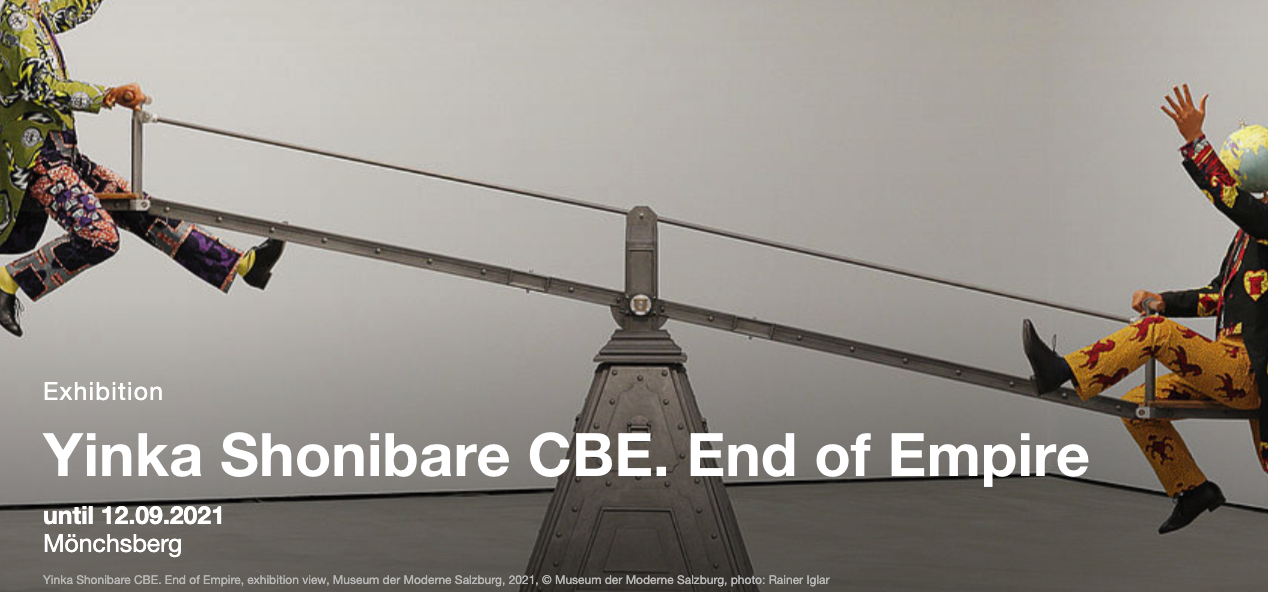 Yinka Shonibare CBE. End of Empire