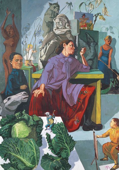 Paula-Rego-Tate-Gallery-Installation-view