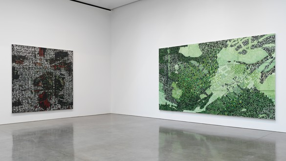 Social Works, Gagosian, Installation view