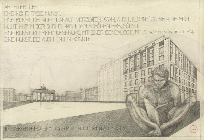 Augusto Romano Burelli, Manifesto Kassel 2002 Documenta 11, Iuav.